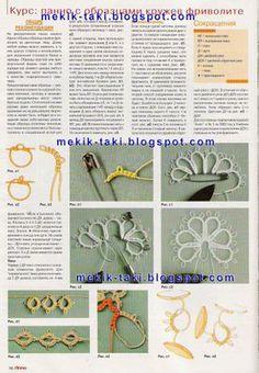 Shuttle Oyasından Jewelry / Jewellery Tatted