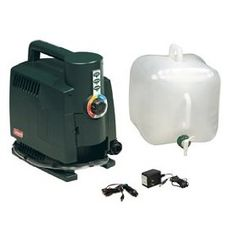 coleman hot portable water heater camping hot water