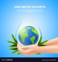 Save Water Poster Images, Ways To Save Water, Composition Drawing, Water Globes, Advertising Poster, Beauty Full Girl, Poster On, Vector Free, Christmas Bulbs