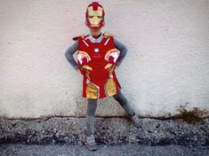 Iron Man is a fantastic superhero and a protagonist of Marvels comic book, which although first appeared in 1963 (!) ... continues to charm with his powers our little heroes! Iron Man costume comes with a mask and a pair of boots! Every little piece of this costume has been made with