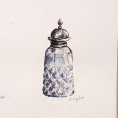 瓶 watercolor 0 9 j u l 1 4