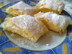 Hungarian Recipes, Strudel, Cornbread, Dairy, Dessert Recipes, Food And Drink, Cheese, Meals, Cooking