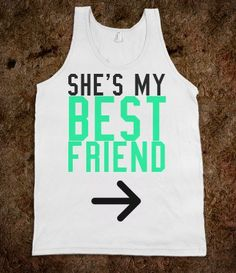 Shes My Best Friend Left - Protego - Skreened T-shirts, Organic Shirts, Hoodies, Kids Tees, Baby One-Pieces and Tote Bags