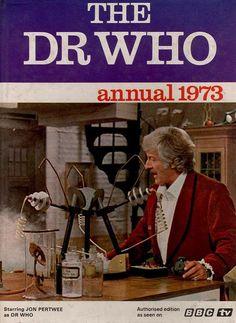 The Doctor Who annual starring Jon Pertwee, Circa 1973.