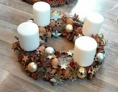 Christmas advent wreath.