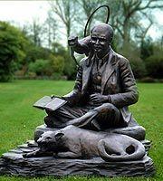 Rudyard Kipling & Bagheera  by Vanessa Marston