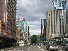Nuvole su Auckland
