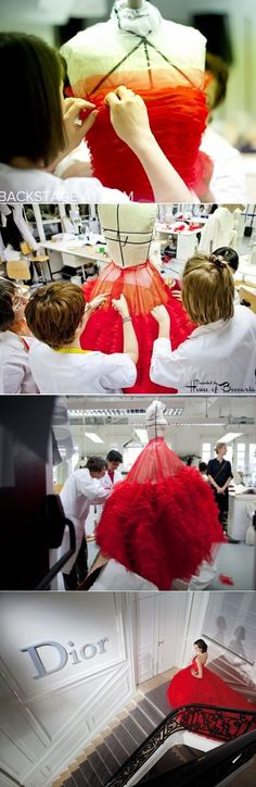 ~Behind The Scenes at The House of Dior | House of Beccaria