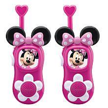 Minnie Mouse Walkie Talkies - christmas 2012 idea