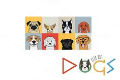 Dogs by Darish on Creative Market