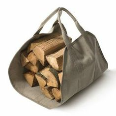 Porte bûches / wood log basket / firewood basket / cesto per legna