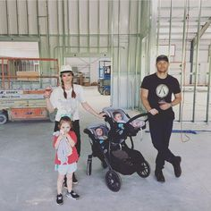 The Ackles Famiy at the Family Business Beer Company