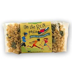 Pastabilities On the Run pasta | Choosing gifts for runners can be tough, but this running gift guide will help you choose a great present for the runner in your life.+