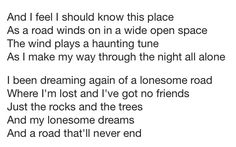 Lonesome Dreams - Lord Huron