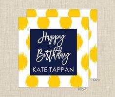Ikat Gift Enclosure Cards from Brown Paper Studios