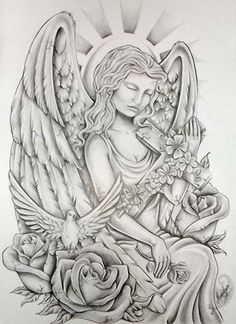 Angel/Floral