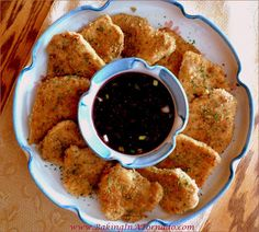 Turkey Cutlets with Raspberry Sauce: Turkey cutlets breaded and pan fried, served with an orange raspberry sauce for a quick and easy dinner   Recipe developed by www.BakingInATornado.com   #recipe #dinner