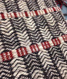 Oslo pattern Flat weave rug. True North Textiles.
