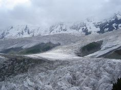 Rakaposhi Glaciers in Pakistan