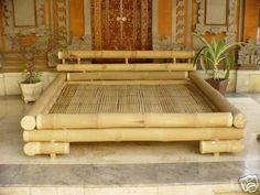 bamboo bed   View Large Image of Saigon Bamboo Bed