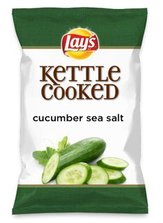 Wouldn't cucumber sea salt be yummy as a chip? Lay's Do Us A Flavor is back, and the search is on for the yummiest chip idea. Create one using your favorite flavors from around the country and you could win $1 million! https://www.dousaflavor.com See Rules.
