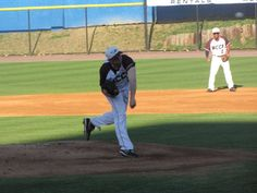 N.C. Central home games are played in the old Bulls Stadium, and we caught a few innings during a rare warm afternoon