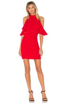 Amanda Uprichard Haven Dress in Scarlet | REVOLVE