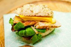 Recept: Broodje gegrilde kip met mango