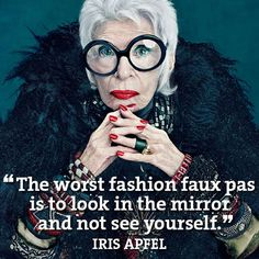 Muse, fashion inspiration, living legend: Getting to know Iris Apfel http://bit.ly/18ztUU7 #whywomen