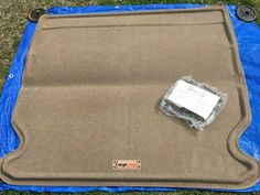Lund 620325 Catch-All Premium Beige Carpet 2nd Seat Floor Mat