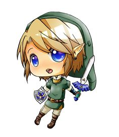 LOZ - Chibi Link by linkinounet62.deviantart.com on @deviantART