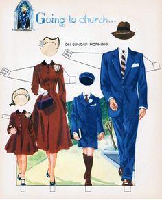 Kathleen Taylor's Dakota Dreams: Thursday Tab- Whitman We Are A Family, 1954