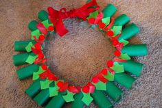 Christmas Wreath Crafts For Kids Kids Crafts, Preschool Christmas Crafts, Christmas Activities, Holiday Crafts, Craft Projects, Holiday Decor, Christmas Projects, Christmas Holidays, Christmas Wreaths