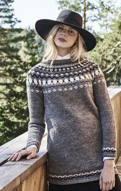 Naisen kirjoneulepusero Novita Nordic Wool || from Novita knits