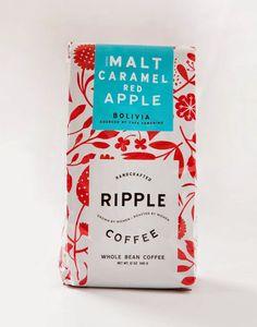 primaverales piezas para el hogar - Packaging Ripple Coffee, Design Womb