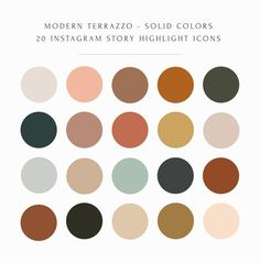 Colour Pallette, Colour Schemes, Color Combos, Rustic Color Schemes, Earthy Color Palette, Logo Design Inspiration, Color Inspiration, Instagram Feed, Instagram Story