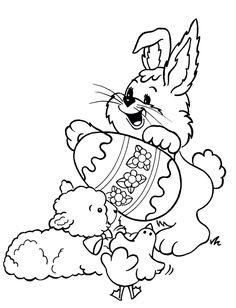 Easter Coloring Pages | easter_coloring_pages_011