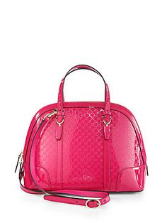#Gucci Gucci Nice Microguccissima Leather Top-Handle Bag #saks