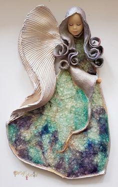 Anioły do zawieszenia - Pracownia Ceramiczna Wolf-Art Wolf, Diy, Christmas Ornaments, Holiday Decor, Art, Angels, Bricolage, Christmas Jewelry, Wolves