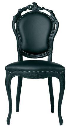 """Smoke Chair Chair Muchas más imágenes como ésta las puedes encontrar en el apartado de """"Recortes"""" del """"Blog de Creatividad de Marielo García"""""""