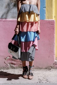Caroline Constas dress, MiuMiu ballerinas: http://www.ohhcouture.com/2016/08/colors-layers-havana-cuba/ | #ohhcouture #leoniehanne