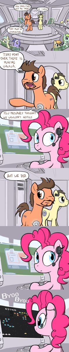 Pinkie Doesnt Care. One of the best moments of The Avengers.