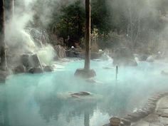 Yufuin Onsen Hot Springs, Japan