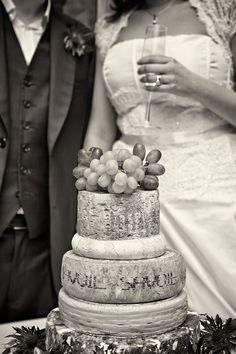 A wedding cheesecake taken at Royal Society of Arts (RSA), London.