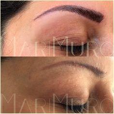 #Permanent #Augenbrauen - #Härchenzeichnung nach der #LONG-TIME-LINER® #Conture® #Make-up Methode #Köln