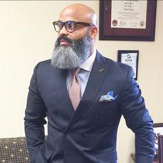 Here are the best Beard Styles For Bald Men Bald With Beard, Full Beard, Bald Men, Nice Beard, Beard Styles For Men, Hair And Beard Styles, Sexy Bart, Bart Styles, Black Men Beards