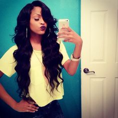 Cute Long Sew Ins | extensions