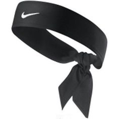 New Womens Nike Head Tie Dri Fit black Headband Tennis Running Basketball Skylar