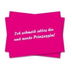 Postkarte+Prinzessin+von+Polarkind+auf+DaWanda.com