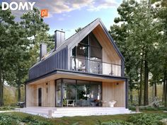 Architecture – Enjoy the Great Outdoors! Modern Barn House, Modern House Design, Residential Architecture, Modern Architecture, Triangle House, Weekend House, A Frame House, Modern Farmhouse Exterior, House In The Woods